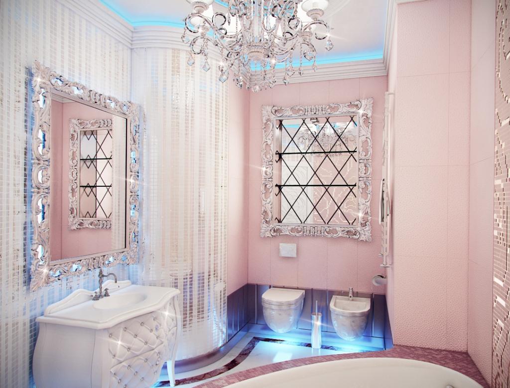 Гламурная в ванной пьяную