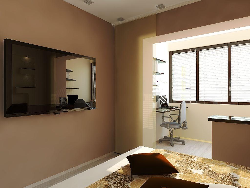 совместить комнату с лоджией дизайн фото возможно