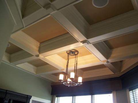 Подвесной потолок дерево