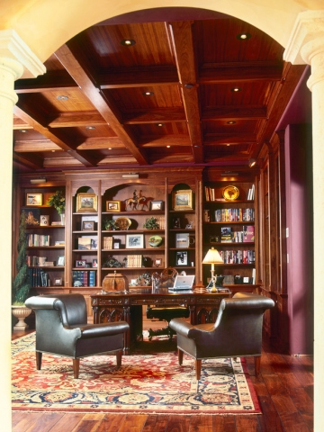 шкаф библиотека на заказ