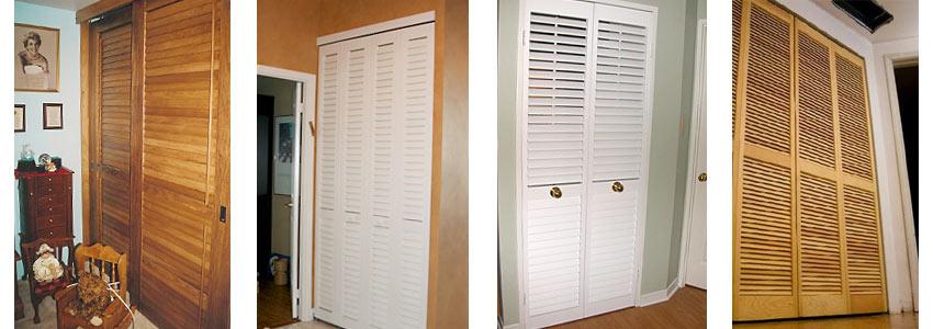 Жалюзийная дверь для шкафа своими руками