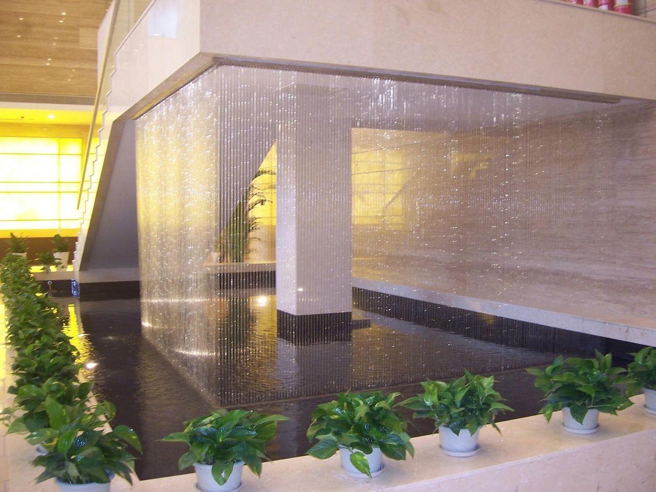 Водопады в интерьере фото