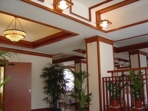 Кессонные потолки в интерьере