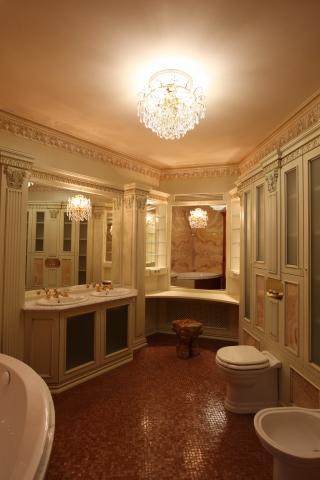 Изготовление мебели для ванной на заказ Москва
