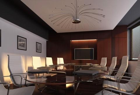 Интерьер переговорной комнаты фото