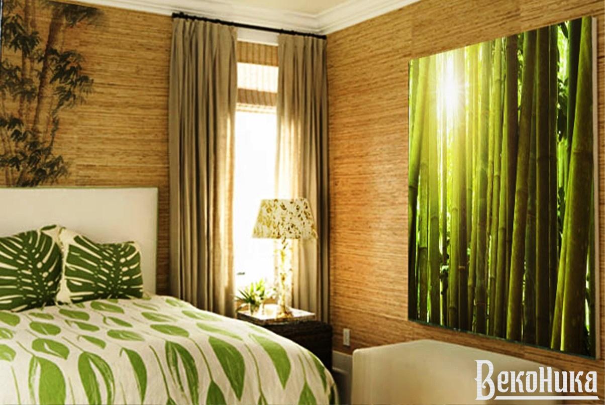 Бамбук в интерьере.
