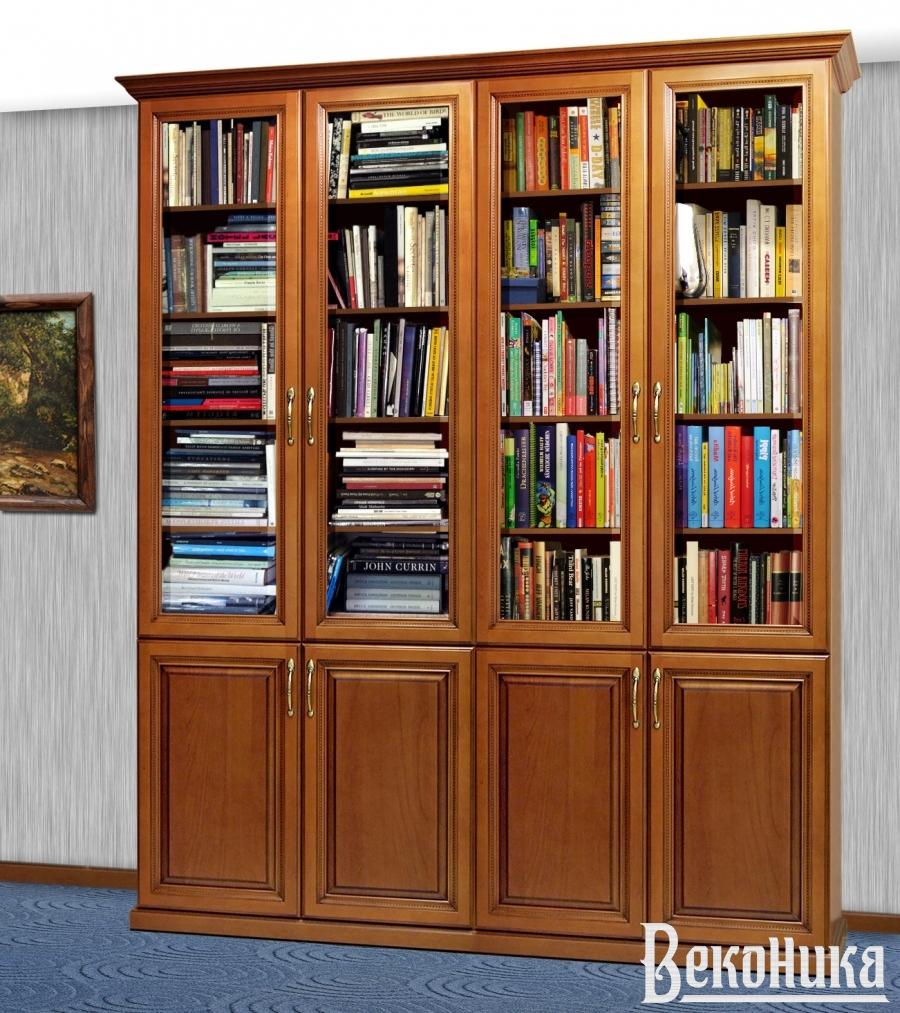 Книжный шкаф в классическом стиле.